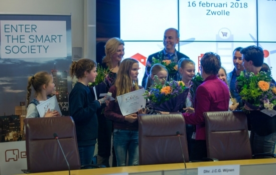 Smart City Challange for Girls Zwolle 16 februari 2018